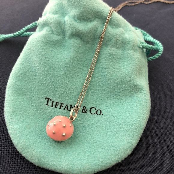 8cfc3ab47 Tiffany & Co. Jewelry   Tiffanys Co Cupcake Charm Necklace   Poshmark